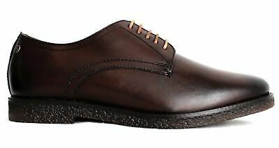 £5.99 • Buy Base London Mens Moore Washed Brown Leather Shoes