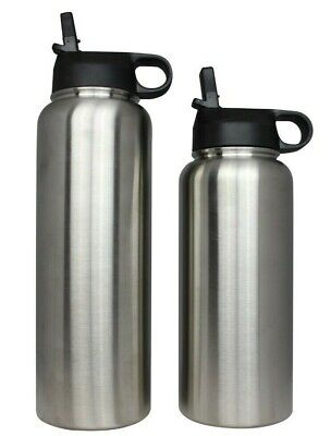 $15.99 • Buy Hydro Wide Mouth Flask Stainless Steel Water Bottle Insulated Flex 32oz Or 40oz