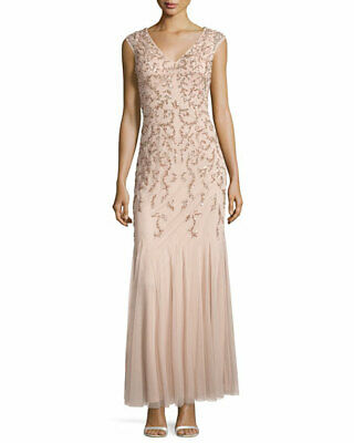$84.74 • Buy Aidan Mattox Beaded Gown MSRP $395 Size 2 # 14A 582 NEW