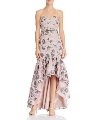 $112.49 • Buy Aidan Mattox Strapless Embellished High/Low Dress MSRP $440 Size 6 # 14A 552 NEW