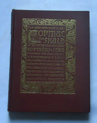 THE LIFE AND DEATH OF CORMAC THE SKALD: Icelandic Kormacks Saga / Iceland Tales • 125£