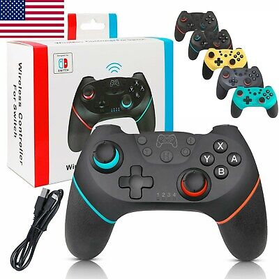 $17.79 • Buy Wireless Pro Gamepad Joypad Remote Controller For Nintendo Switch NS Console NEW