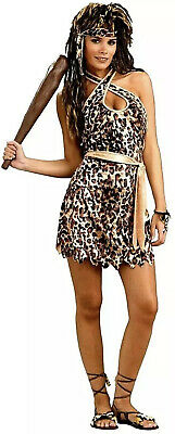 £15.99 • Buy Ladies Cavewoman Voodoo Set Adults Cave Girl Fancy Dress Accessory Womens Outfit