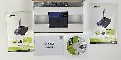 $13.35 • Buy Linksys Wireless USB Network Adapter 2.4 GHz 802.11b Model WUSB11 NIB