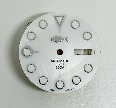 $ CDN46.31 • Buy Aftermarket Replacement Dial For 7s26-0020 Skx007 Automatic Divers Sharky Mop!