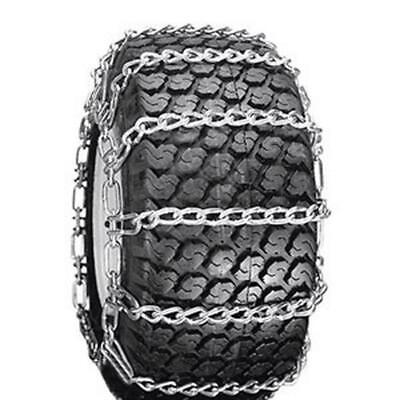 $157.99 • Buy Two 24x12x12 Link Tire Chains & Ten  For Sears Craftsman Mower Tractor