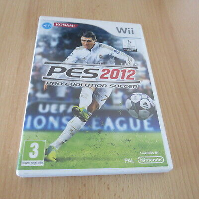 AU32.39 • Buy Pro Evolution Soccer 2012 Nintendo Wii, Pal