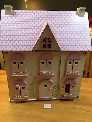 £75 • Buy ELC  Rosebud House  Wooden Dolls House, With Figures, Accessories & Furniture