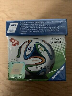 $12.49 • Buy RAVENSBURGER ADIDAS FIFA World Cup 2014 Brazil 3D Puzzle Soccer Ball 54pcs NEW 1
