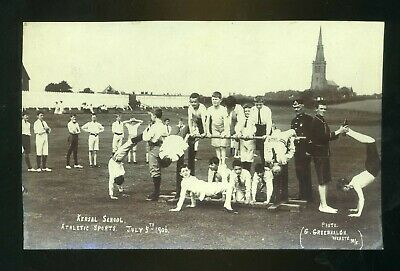 £15 • Buy SALFORD / KERSAL Lancashire School's  Sports Day 1906 Athletic Sports  RP