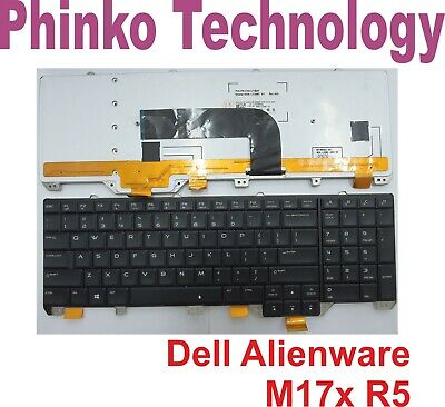 AU71.50 • Buy  Keyboard For DELL Alienware M17x R5 P18E With Backlit + Frame US