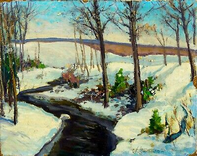 $249 • Buy O Victor Humann (MA,1874-1951) Oil Painting