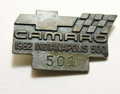 $29 • Buy Indy 500 1982 Silver Pit Badge