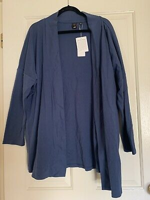 AU10 • Buy BNWT UNIQLO BLUE CARDIGAN, Size M