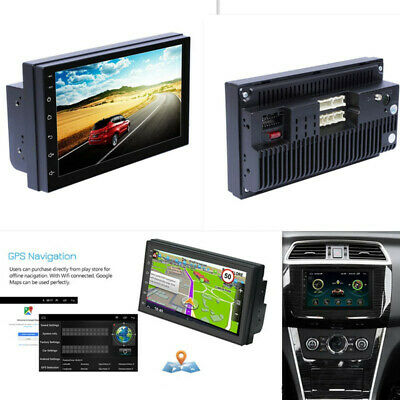 """£69.68 • Buy Car MP5 7"""" Stereo Android GPS Player 2Din Multimedia Bluetooth AM/FM Radio WiFi"""