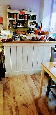 £550 • Buy Shop Counter Bespoke Made, Rustic, Shabby Chic, Removable L Shaped