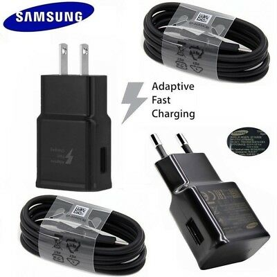 $ CDN2.37 • Buy Original Samsung Adaptive Fast Wall Charger For Galaxy S8 S9 S10 Plus Note 8 9
