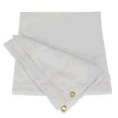 AU120.59 • Buy SNOWCO 3-Bow Tractor Canopy Replacement Cover 40  10 Oz. Duck Canvas - White
