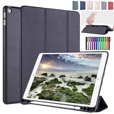AU20.34 • Buy For IPad Mini Air 9.7  2018 10.2  2019 Smart Leather Case Cover W Pencil Holder