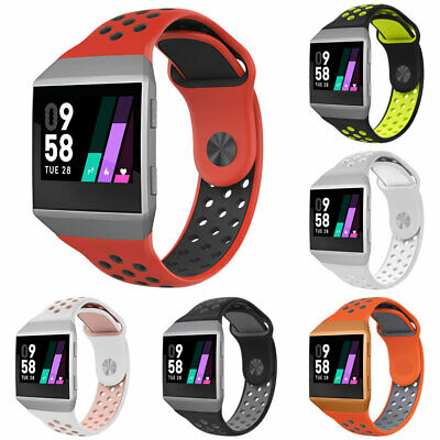 $ CDN7.28 • Buy Cy_ For Fitbit Ionic Replacement Dual Color Silicone Wrist Band Watchband Strap