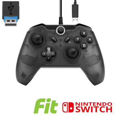 $13.58 • Buy Pro USB Wired Controller Gamepad Joypad Remote For Nintendo Switch Console