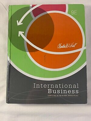 £7.26 • Buy International Business By Charles W. L. Hill (2012, Hardcover)