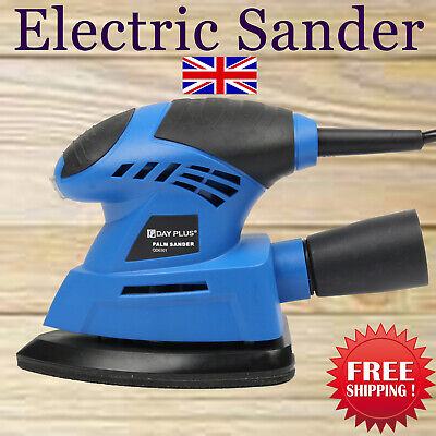 Palm Sander Machine 240V Electric Power Sanding Angle Base Hand Held Sander Tool • 21.69£