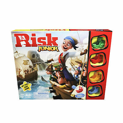 $14.99 • Buy Risk Junior Game; Intro To The Classic Board Game For Kids Ages 5 And Up
