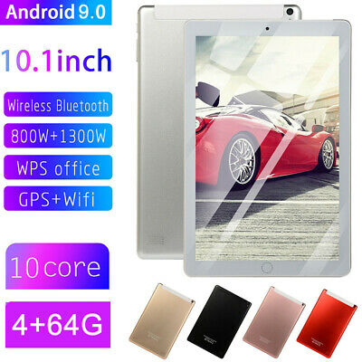 AU79.99 • Buy New 10.1  WIFI 4G-LTE HD IPS PC Tablet Android 9.0 Bluetooth 4+64GB Dual SIM