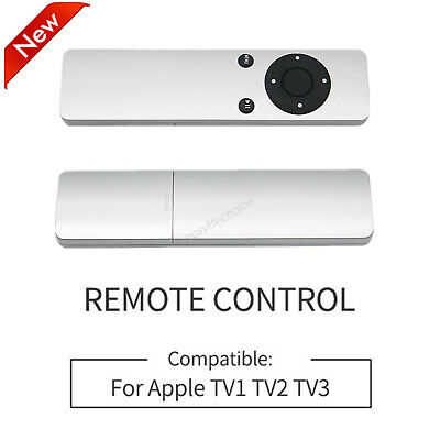 AU8.17 • Buy Replacement Infrared Remote Control Compatible For Apple TV1/TV2/TV3 Silver