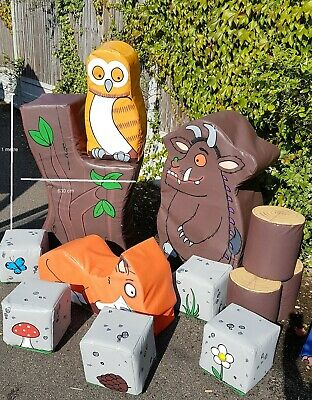 Gruffalo Commercial Soft Play Set 14 Pieces • 479.99£