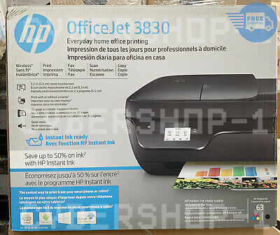 View Details NEW HP OfficeJet 3830 All-in-One Printer (K7V40A) • 69.98$