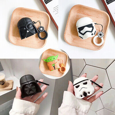$ CDN5.25 • Buy 3D Star Wars Silicone Earphone Protective Cover For Apple Airpods Charging Case
