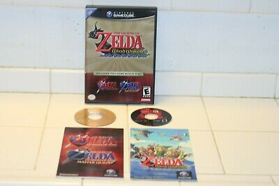 $99.99 • Buy Gamecube Legend Of Zelda Wind Waker Ocarina Of Time Master Quest Combo Complete