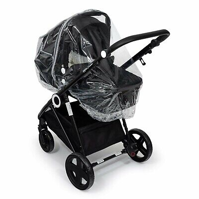 Carrycot Raincover Storm Cover Compatible With Hauck • 10.49£