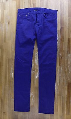 $302 • Buy DIOR HOMME Skinny Blue Jeans Made In Japan Authentic - Size 33 - NWOT