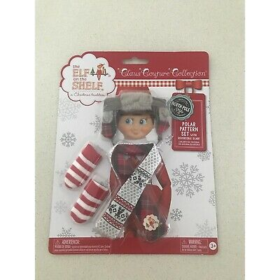 AU30 • Buy Elf On The Shelf Couture Polar Pattern Set With Reversible Scarf