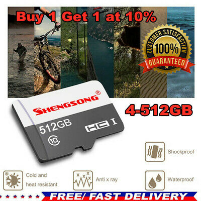 $9.79 • Buy 4-512GB Micro* TF Flash Memory Card SD- Card Class10 For Camera Mobile