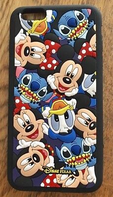 AU14.83 • Buy NEW IPhone 7/8 Disney Mickey Mouse & Friends 3D Silicon Phone Case