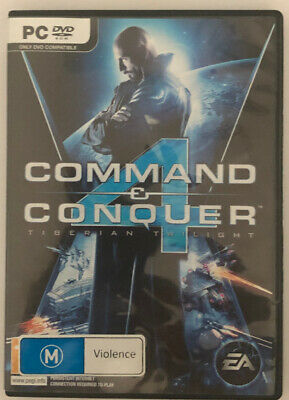 AU15 • Buy Command And Conquer 4 - PC DVD - VGC - Free Postage - Aus Stock