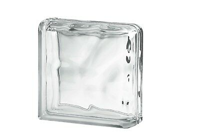 £39 • Buy Clear Wave Double End Glass Block