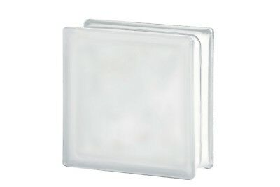 £45 • Buy Clear Wave Glass Block Satin Finish (Pack Of 5)