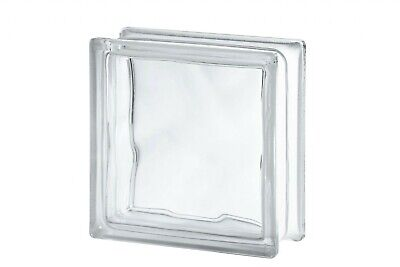 £31 • Buy Clear Wave Glass Block (Pack Of 5) (Flemish)
