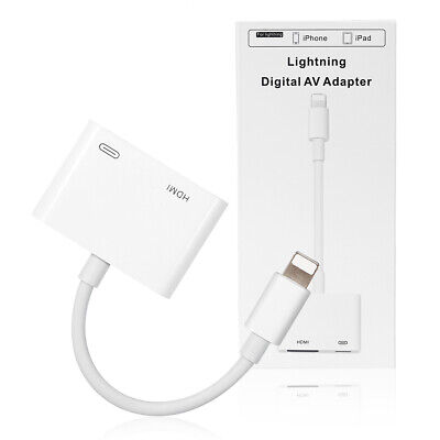 AU48.99 • Buy (Apple MFi Certified)Lightning To HDMI Adapter For Apple IPhone SE 6 7 8 Xs 11