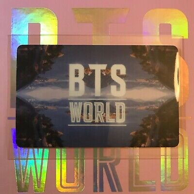 $5.99 • Buy BTS World Limited Edition OFFICIAL Photocard LOGO + Gift