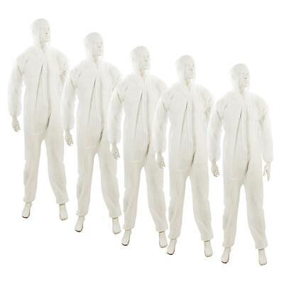 £28.16 • Buy 5x Disposable Hooded Coverall Paper Suit Protective Overall. DIY Spray Paint XL
