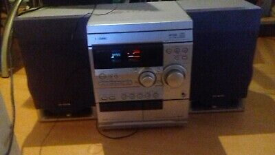 Aiwa NSX-R10 Hifi CD Player With Radio, Cassette And Speakers & Remote Stereo  • 65£
