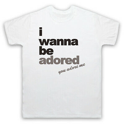 The Roses I Wanna Be Adored Stone 4xl White Mens T-shirt • 6.99£