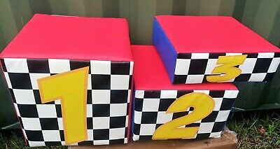 Commercial Soft Play Winners Podium 1, 2, 3 • 219.79£
