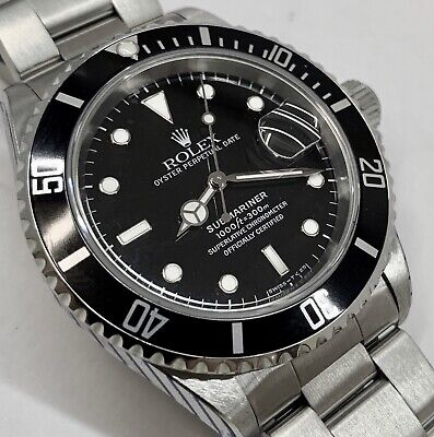 AU13500 • Buy Rolex Submariner 16610 Date Pre-Ceramic Outstanding Condition